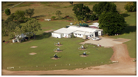 Aerial photo of Victoria River Downs Station